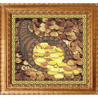 """Оберег """"Рог изобилия"""", АР 1518 схема с рисунком для частичной вышивки бисером на ткани"""