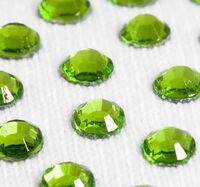 Стразы DMC (Thermal adhesive)оливковые , прозрачные