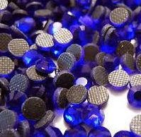 Стразы DMC (Thermal adhesive)синий кобальт, прозрачные