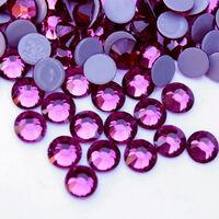 Стразы DMC (Thermal adhesive)ярко-розовые, прозрачные