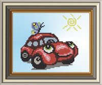Машинка с бабочкой, арт. СД-036