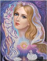 Покровительница влюблённых - схема для вышивки бисером на ткани С-301