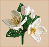 Набор для бисероплетения - Цветок, БП-151