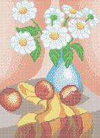 Ромашки А3-0497 cхема для вышивки бисером