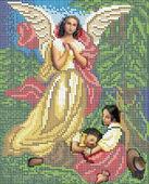 Ангел Хранитель схема для вышивки бисером 4007