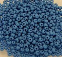 Бисер №63080 matt, №10, Preciosa (Чехия), синий, непрозрачный