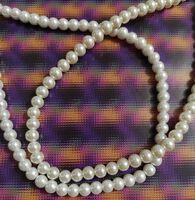 Бусины жемчуг белые для вышивки, бисероплетения