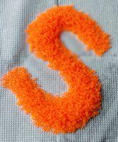 Бисер №38789, №10, Preciosa (Чехия), неоновый ярко-оранжевый, полупрозрачный