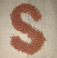 Бисер №46095, №10, Preciosa (Чехия), песочно-коричневый перламутровый, непрозрачный