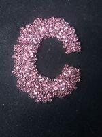 Бисер №18273, №10, Preciosa (Чехия), розовый, блестящий, прозрачный