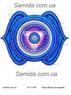 Чакра Аджна - Интуиция - схема вышивки бисером SA 3-65