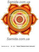 Чакра Свадхистана -  Эмоции- схема вышивки бисером SA 3-69