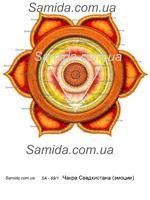 Чакра Свадхистана - Эмоции - схема вышивки бисером SA 3-69