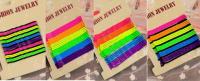 Невидимка разноцветная стальная для волос набор