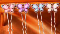 Шпилька бабочка