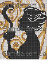 Кофейный аромат схема для вышивки бисером SA 4-59