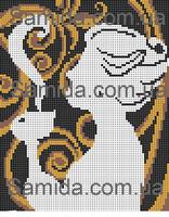 Кофейный аромат схема для вышивки бисером SA 4-60
