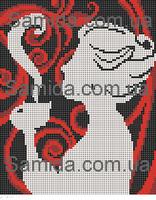 Кофейный аромат схема для вышивки бисером SA 4-62