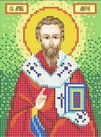 Святой мученик Мирон схема для вышивания бисером А5 - 088
