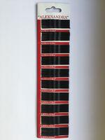 Невидимки набор стальные 5,5 мм и 5 мм разного цвета