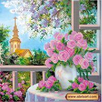 Весенний романс, АС-438 схема для вышивания бисером на художественном холсте