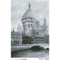 Самая красивая Базилика Франции (черно-белая) 41 см x 61 см